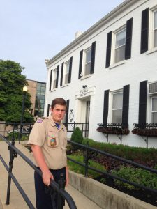 Working towards the Citizenship in the Community merit badge