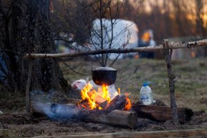 Ahh...the smell of campfire cooking!