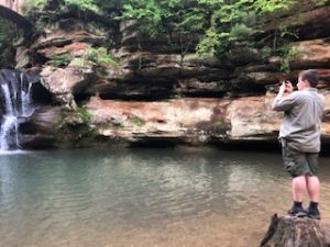 Appreciating the natural beauty of Hocking Hills