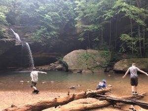 Simple fun at Hocking Hills
