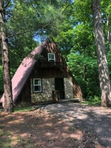 Chalet cabins at Hocking Hills